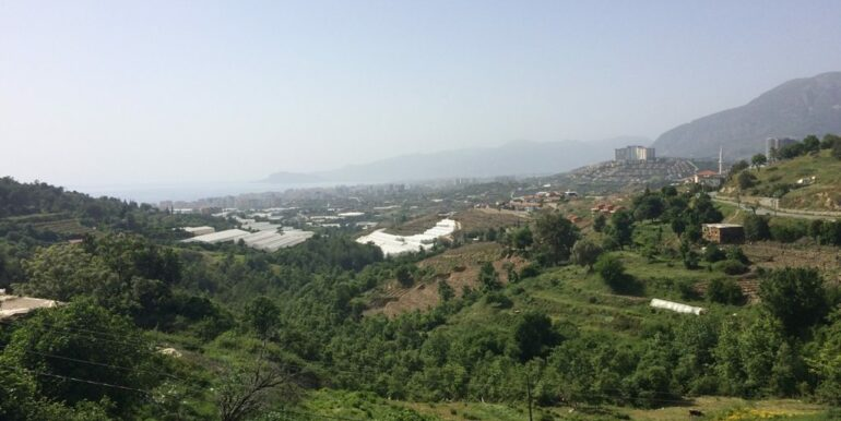 64000 Euro Sea View Lot For Sale in Alanya 1