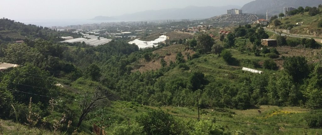 64000 Euro Sea View Plot For Sale in Alanya