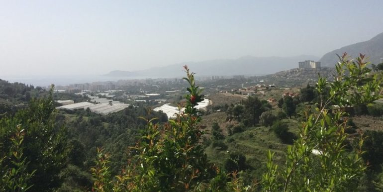 64000 Euro Sea View Lot For Sale in Alanya 5