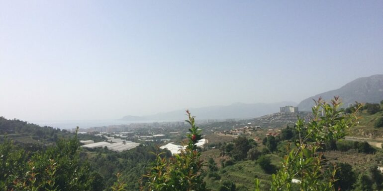 64000 Euro Sea View Lot For Sale in Alanya 6