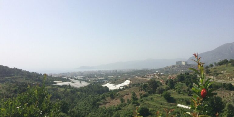 64000 Euro Sea View Lot For Sale in Alanya 7