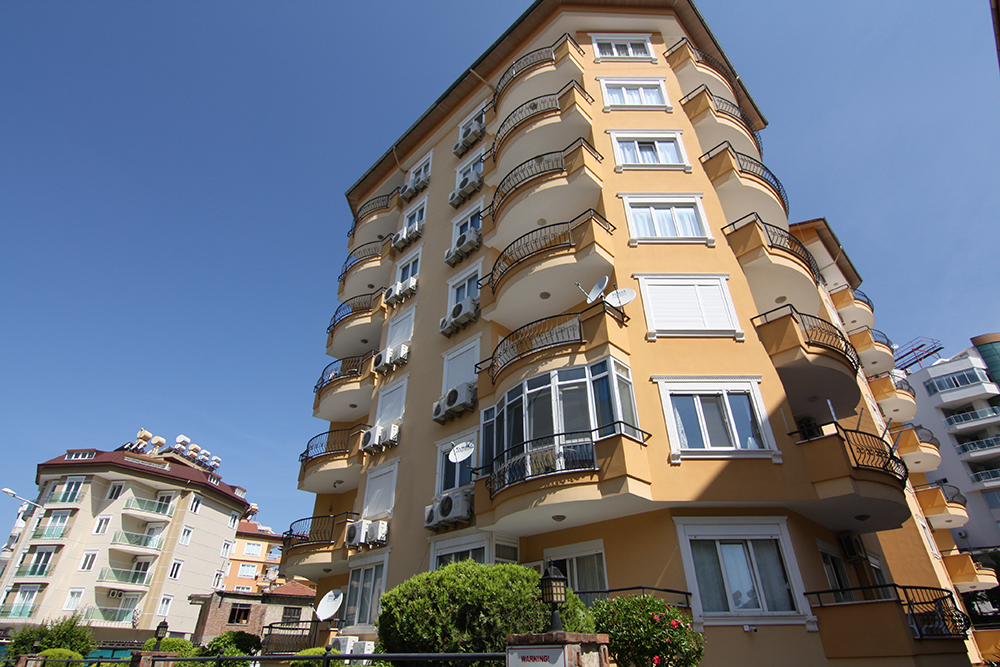 65000 Euro Centrum Apartment For Sale in Alanya