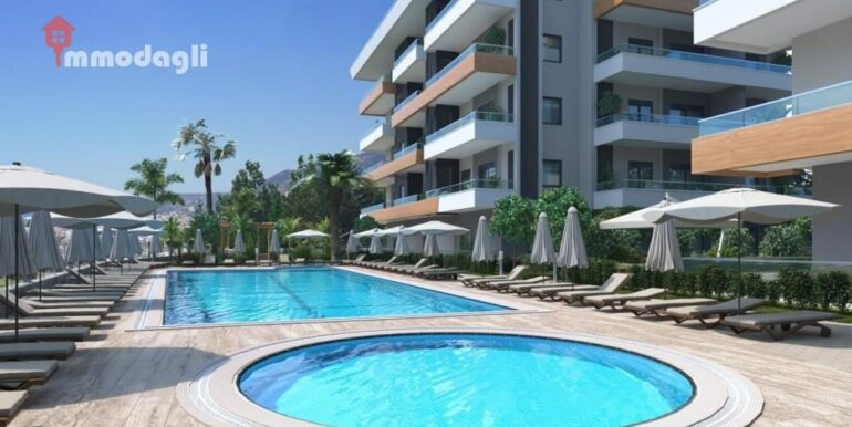 67000 Euro Apartment For Sale in Alanya 1