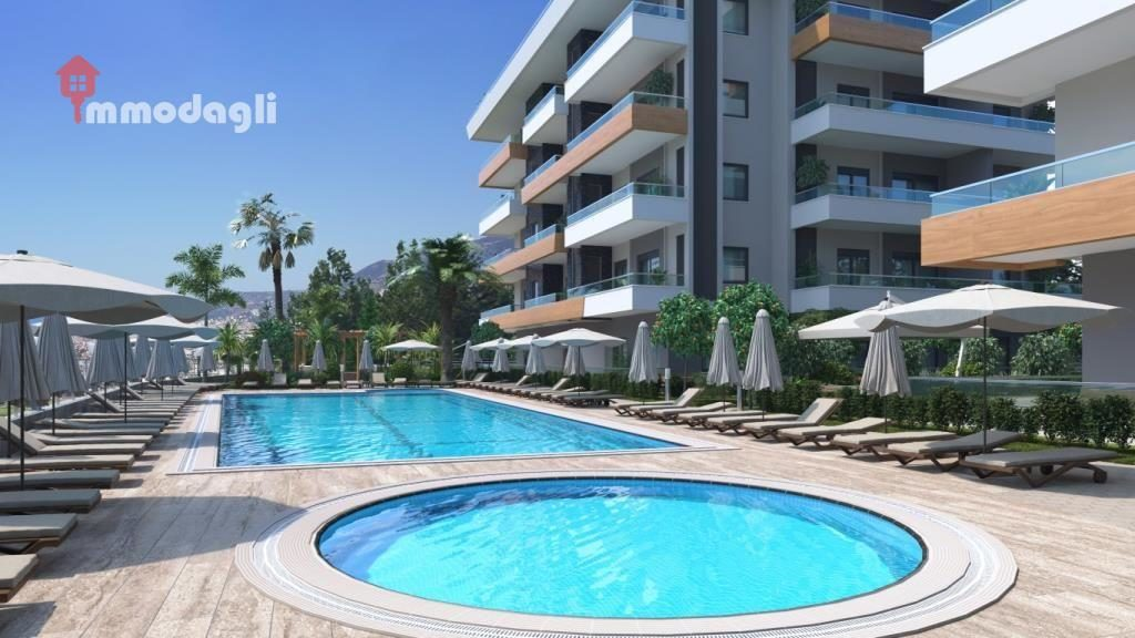 67000 Euro Apartment For Sale in Alanya