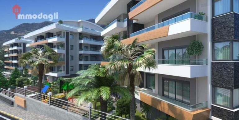 67000 Euro Apartment For Sale in Alanya 3