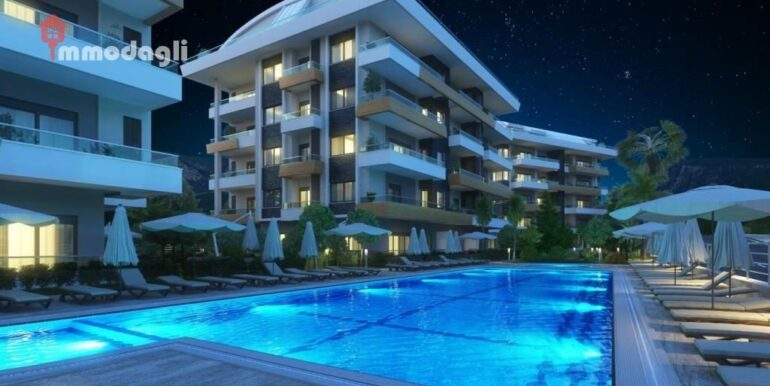 67000 Euro Apartment For Sale in Alanya 4