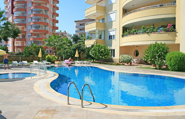 67000 Euro Sea View Apartment for Sale in Alanya 1