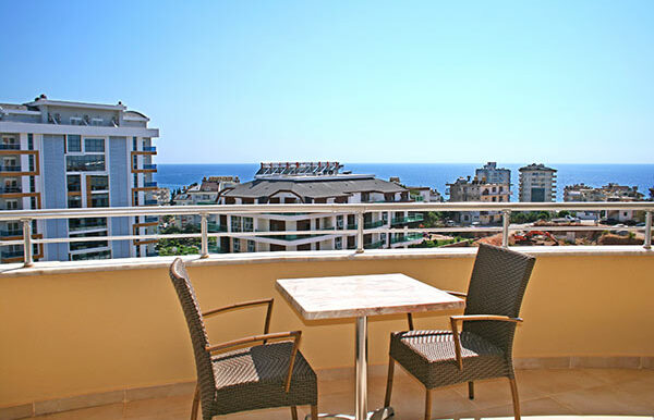 67000 Euro Sea View Apartment for Sale in Alanya 2