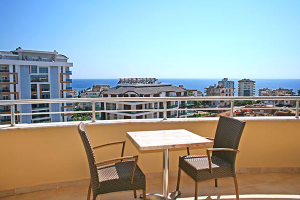 67000 Euro Sea View Apartment for Sale in Alanya
