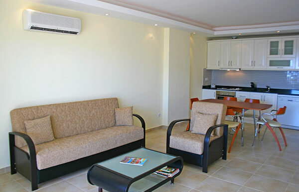 67000 Euro Sea View Apartment for Sale in Alanya 5