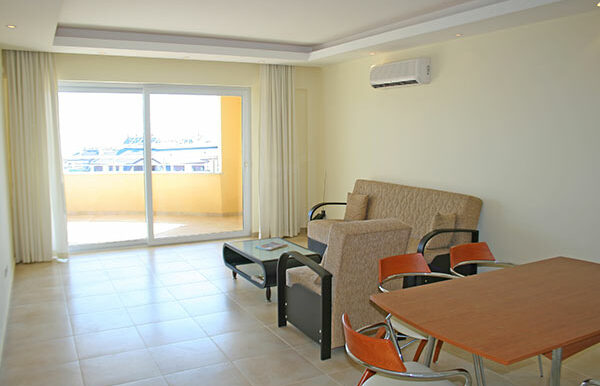 67000 Euro Sea View Apartment for Sale in Alanya 6
