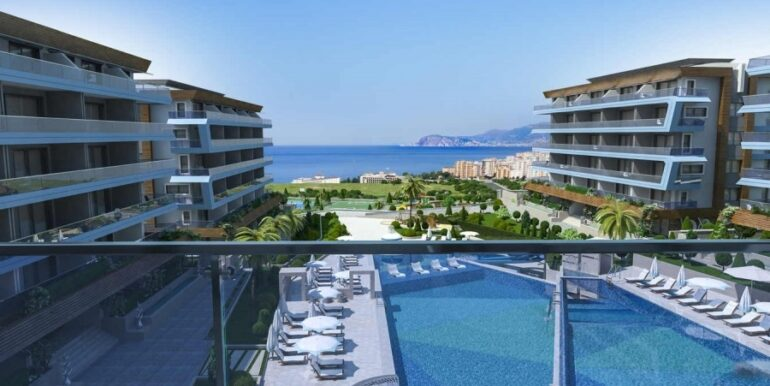 68000 Euro Apartment for Sale in Alanya 1