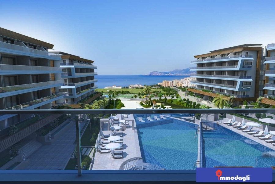 68000 Euro Apartment for Sale in Alanya