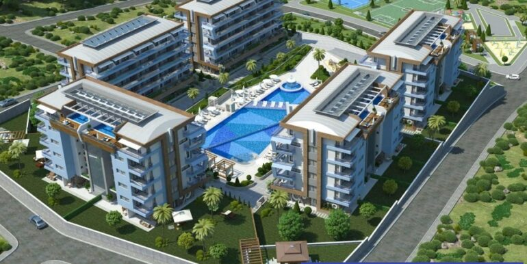 68000 Euro Apartment for Sale in Alanya 2