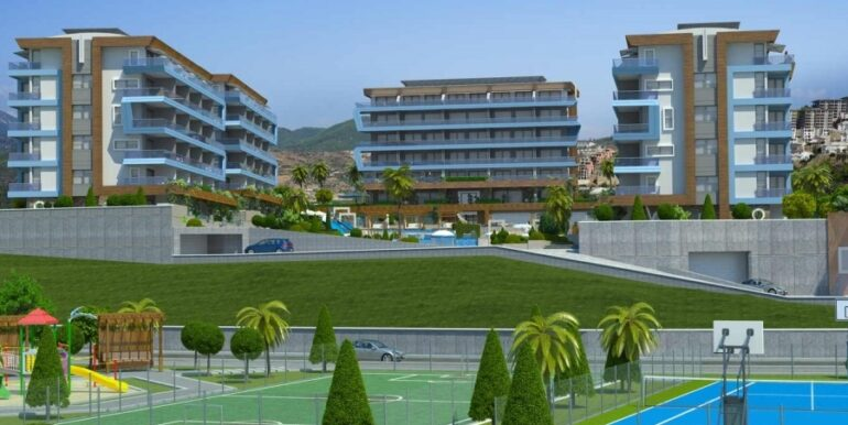 68000 Euro Apartment for Sale in Alanya 6