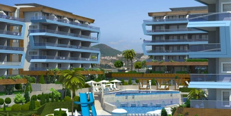 68000 Euro Apartment for Sale in Alanya 7