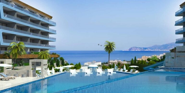 68000 Euro Apartment for Sale in Alanya 8