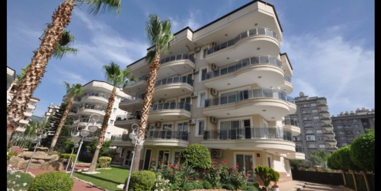 69000 Euro Apartment For Sale in Alanya Oba 1