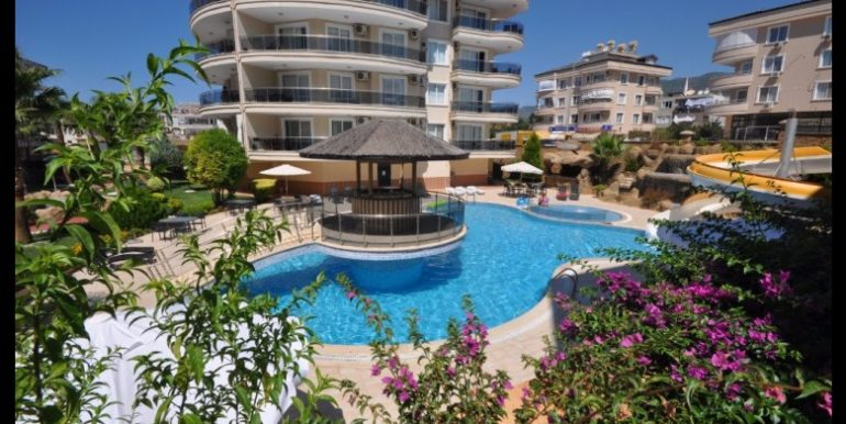 69000 Euro Apartment For Sale in Alanya Oba 2