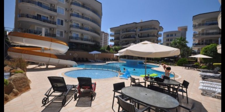 69000 Euro Apartment For Sale in Alanya Oba 3