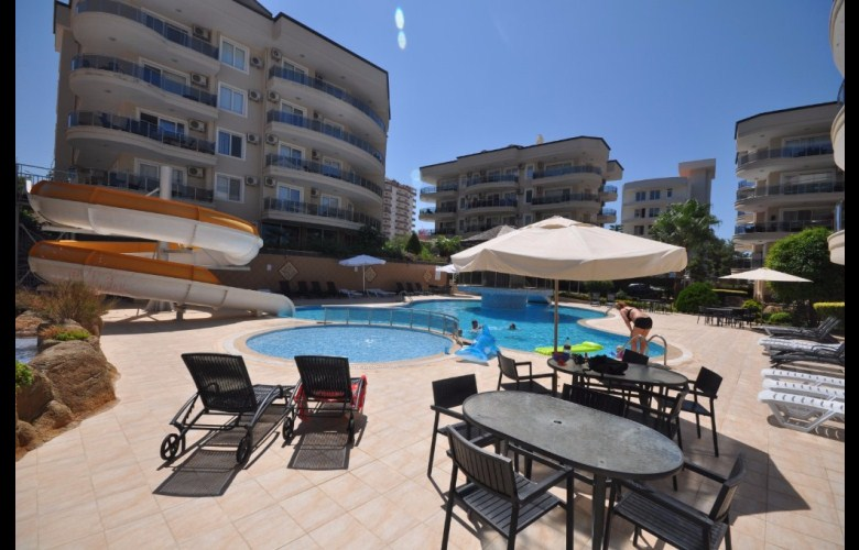 69000 Euro Apartment For Sale in Alanya Oba