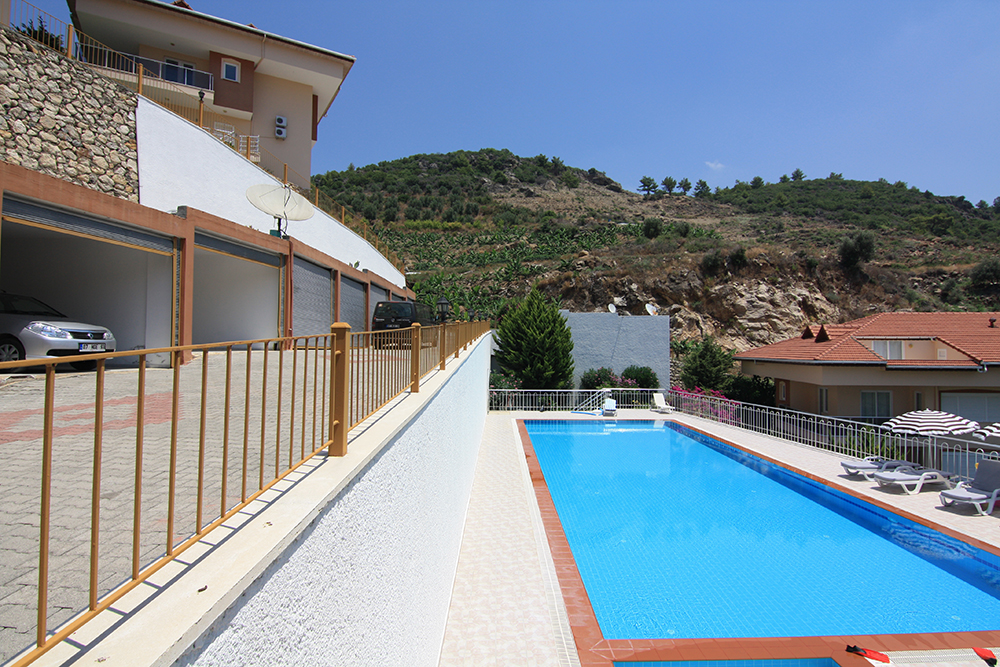 69000 Euro Sea View Apartment For Sale in Alanya