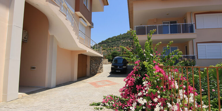 69000 Euro Sea View Apartment For Sale in Alanya 5