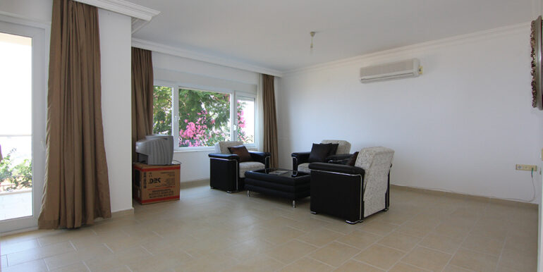 69000 Euro Sea View Apartment For Sale in Alanya 7