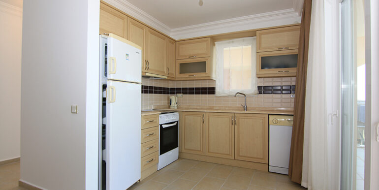 69000 Euro Sea View Apartment For Sale in Alanya 8