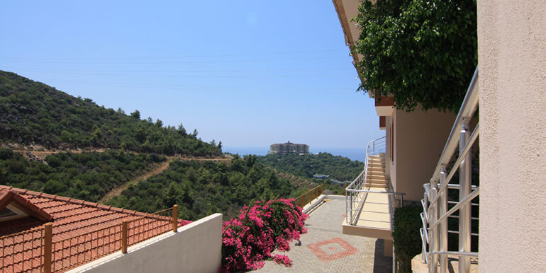 69000 Euro Sea View Apartment For Sale in Alanya 14