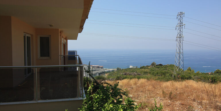 69000 Euro Sea View Apartment For Sale in Alanya 15