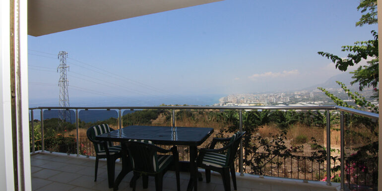 69000 Euro Sea View Apartment For Sale in Alanya 16