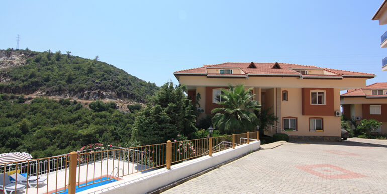 69000 Euro Sea View Apartment For Sale in Alanya 17