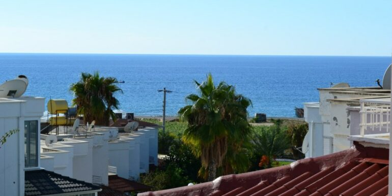 69000 Euro Sea View House For Sale in Alanya 1
