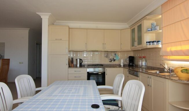 69900 Euro Seaview Penthouse For Sale in Alanya 8