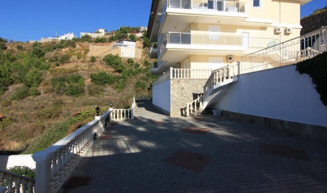 69900 Euro Seaview Penthouse For Sale in Alanya 19