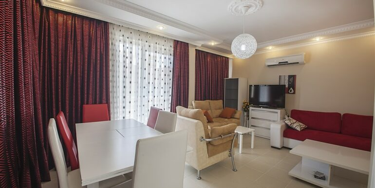 73000 Euro Penthouse For Sale in Alanya 6