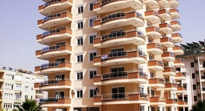 73000 Euro Sea View Apartment For Sale in Alanya 2