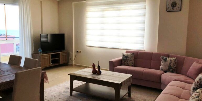73000 Euro Sea View Apartment For Sale in Alanya 5
