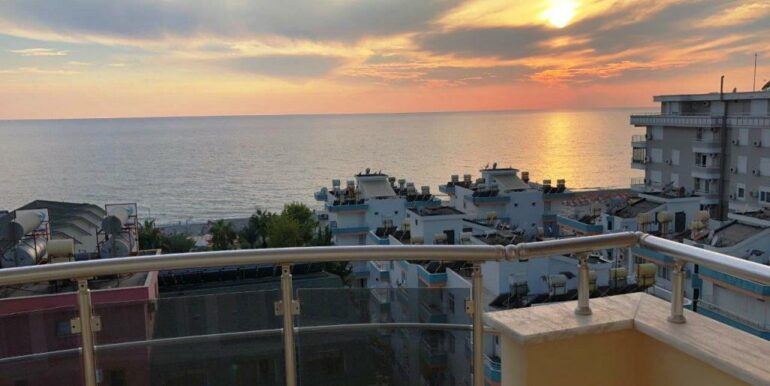 73000 Euro Sea View Apartment For Sale in Alanya 6