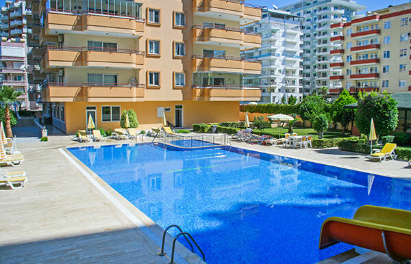 75000 Euro Sea View Apartment For Sale in Alanya 1