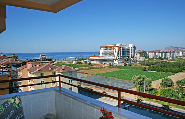 75000 Euro Sea View Apartment For Sale in Alanya 2