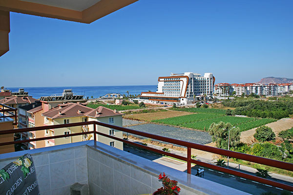 75000 Euro Sea View Apartment For Sale in Alanya