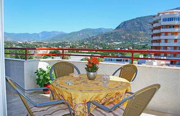 75000 Euro Sea View Apartment For Sale in Alanya 3