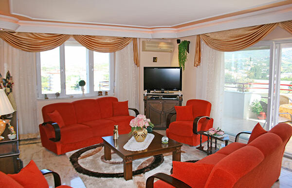 75000 Euro Sea View Apartment For Sale in Alanya 4