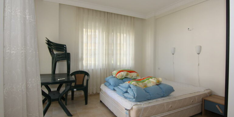 80000 Euro Sea View Apartment For Sale in Alanya Tosmur 11