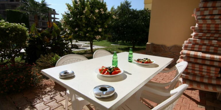 80000 Euro Sea View Apartment For Sale in Alanya Tosmur 16