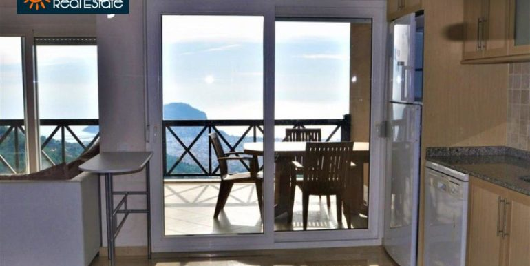 80000 Euro Sea View Penthouse For Sale in Alanya 3