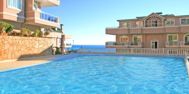85000 Euro Sea View Apartment For Sale in Alanya 2