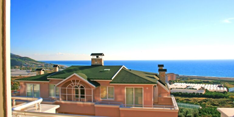 85000 Euro Sea View Apartment For Sale in Alanya 8